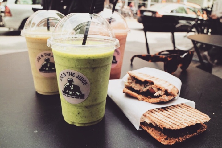 In love with avocado smoothies